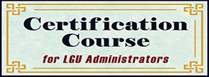 Certification Course for LGU Administrators