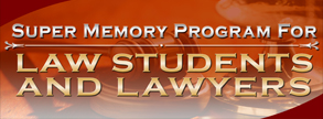 Super Memory Program for Law Students & Lawyers